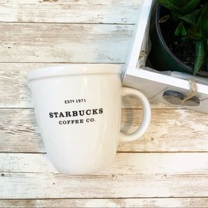 Starbucks 2001 Barista 18 oz Est 1971 Large Mug